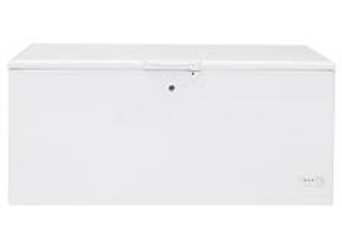 "73"" White Chest Freezer"