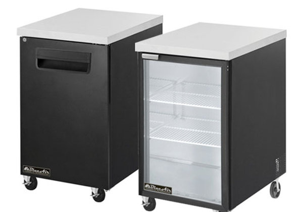 Back Bar Coolers 23""