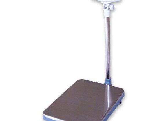 Platform Receiving Scale w/ 120 lb Capacity, Tilt Head, 120 V