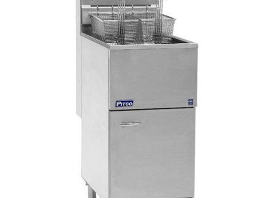 Pitco 40S Gas Fryer - (1) 45-lb