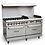 """Thumbnail: 60"""" 6 Burner Gas Range with 2 Ovens with 24"""" Griddle"""
