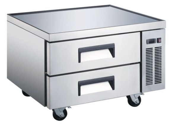 """36"""" Two Drawer Refrigerated Chef Base Equipment Stand"""