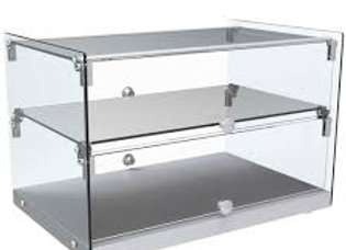 "22"" Countertop Dry Straight Glass Display Case"