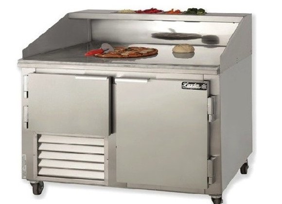 "60"" Refrigerated Pizza Dough Retarder Marble Top Table"