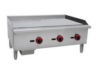 """36"""" Gas Countertop Griddle with Manual Controls"""