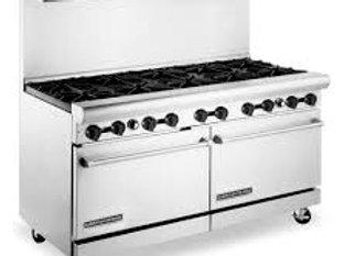 10 Burners stove   American Range