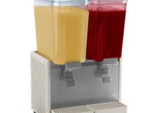 Double  Refrigerated Beverage Dispenser