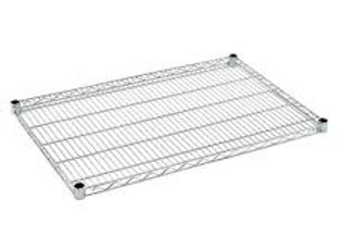 "18""D x 18""W NSF Chrome Wire Shelf"