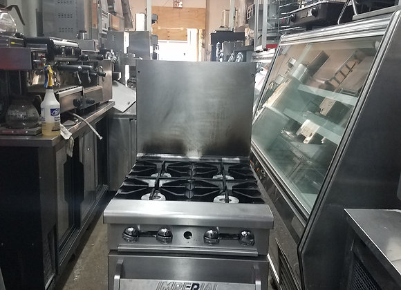 Imperial 4 burner  stove  gas