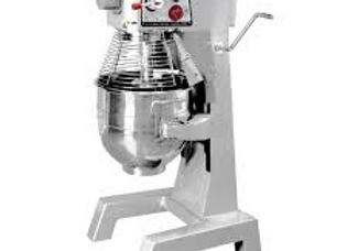 30 Quart Gear Driven Commercial Planetary Stand Mixer with Timer
