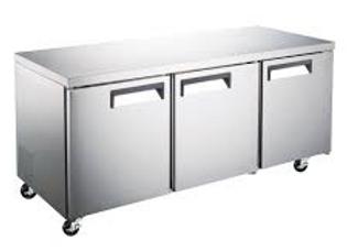 "72"" Undercounter Worktop Refrigerator - 15.5 Cu. Ft."
