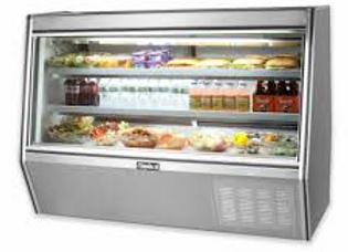 "72"" Double Duty Refrigerated Deli Display Case"