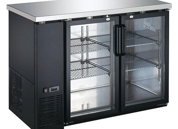 "48"" Glass Door Back Bar Refrigerator"