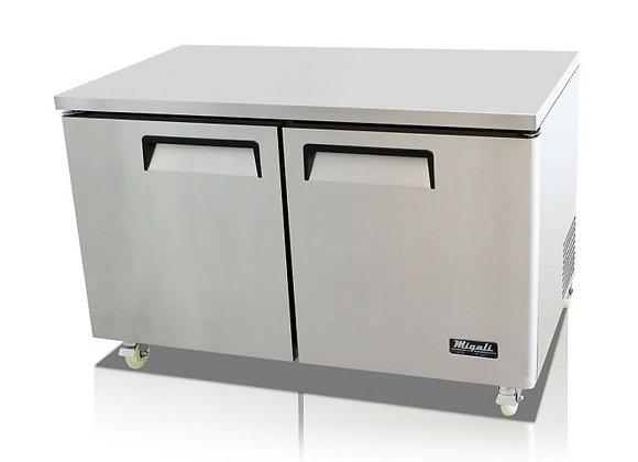 """60"""" Undercounter Work Top Freezer - 18.2 Cu. Ft."""