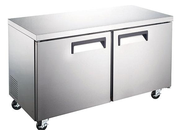 """60"""" Undercounter Work Top Freezer - 15 Cu. Ft."""