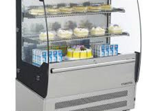 "40"" Open Air Merchandiser Grab and Go Display Case"