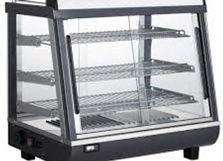 """27"""" Heated Countertop Display Front, Rear Doors"""