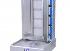 120 lb. Gas Vertical Gyro Shawarma Machine