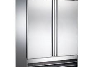 "54"" Double Solid Door Reach-In Refrigerator - 47 Cu. Ft."