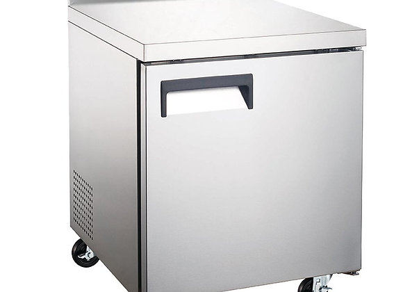 "27"" Undercounter Worktop Freezer with 4"" Backsplash"