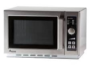 "Amana 22"" Medium Volume 1000 Watts Commercial Compact Microwave, 120v"