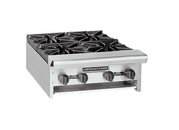 4 Burner stove countertop American Range