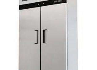 """Migali  52"""" Double Solid Door Reach-In Freezer - 49 Cu. Ft."""