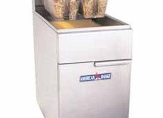 American Range - Fryer, liquid propane, 65-75 lb. fat capacity