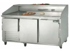 """72"""" Refrigerated Pizza Dough Retarder Table"""