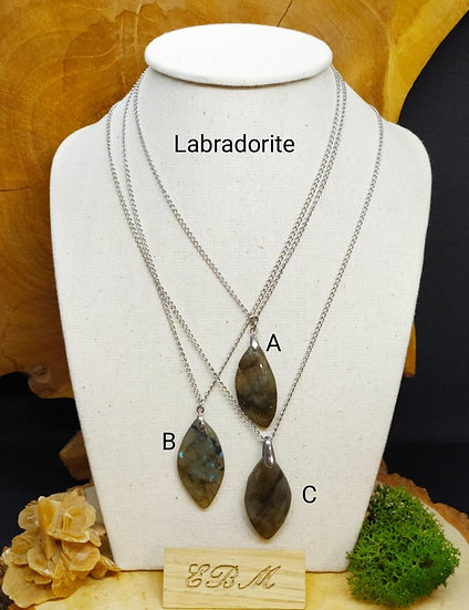 Colliers en Labradorite