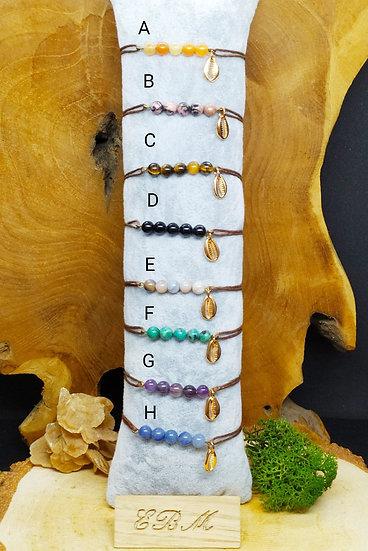 Bracelets cordon Conque