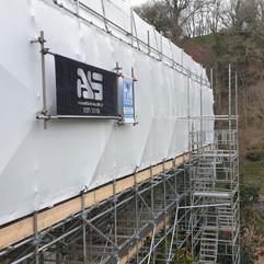 Temporary Roof Scaffolding Devon