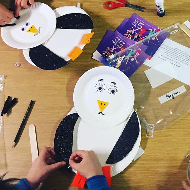 """All of Us as We"" Penguins, (from Antarctica) being created to remind us to #makethepromise to #beki"