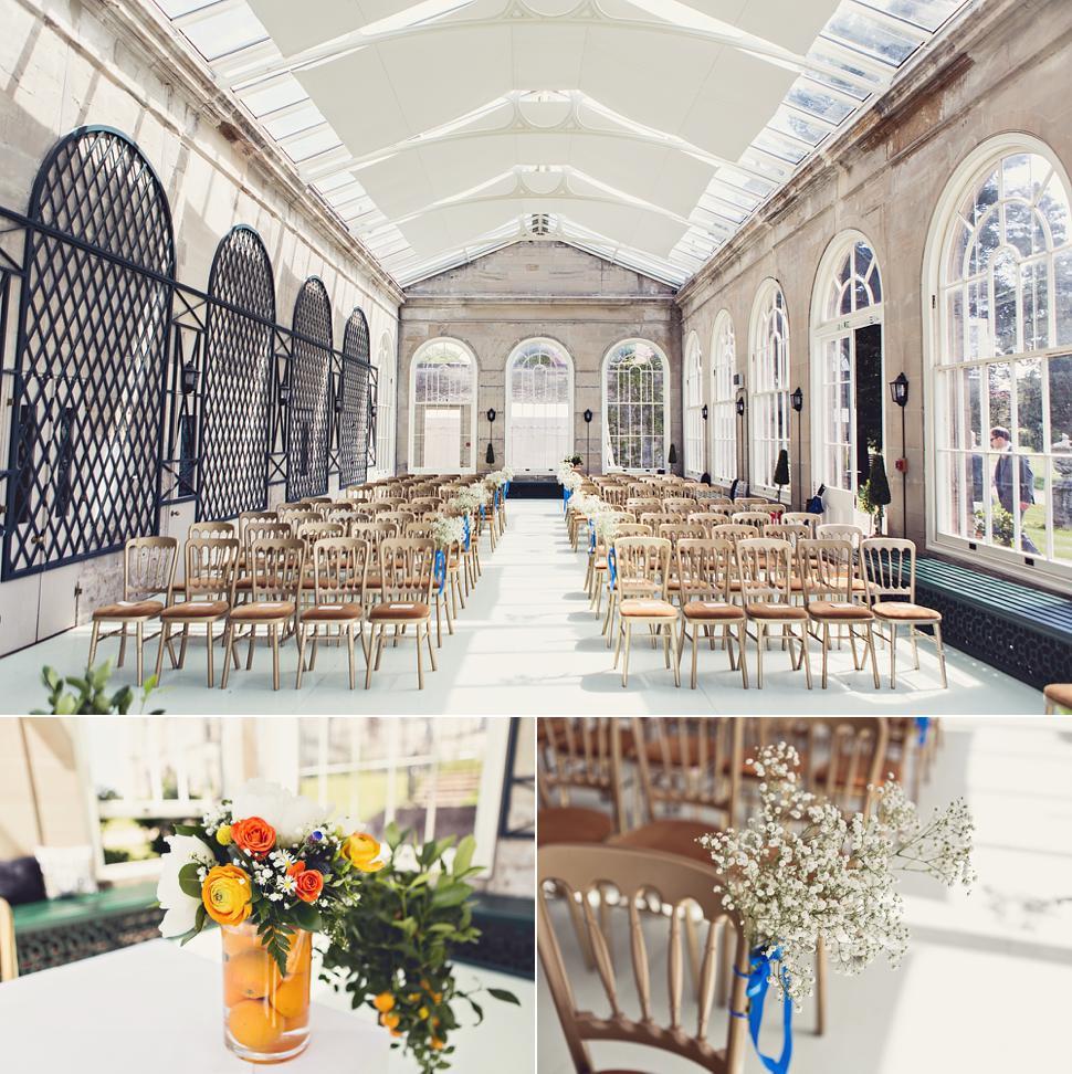 The Orangery at Stoneleigh Abbey - Wedding Ceremony Venue