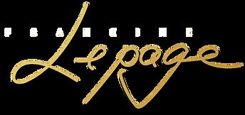 La signature de l'artiste peintre Francine Lepage, Canada