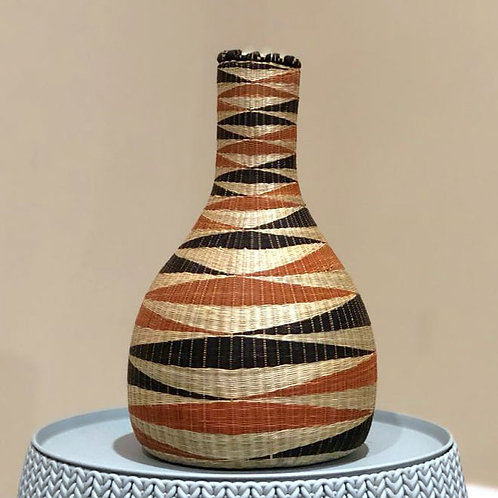 UBURAZA'S HANDWOVEN SISAL PEACE POT /SMALL