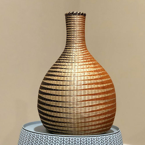 UBURAZA'S HANDWOVEN SISAL PEACE POT / MEDIUM