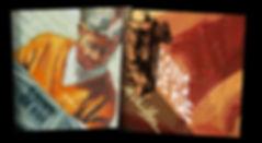 Achilles Kwagn, Portrait, peinture, Figuratif, Aquarelle