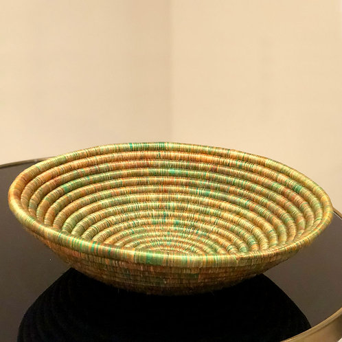 HANDWOVEN PLATE / WALL DECOR MADE WITH SISAL