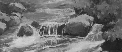 Paysage du quebec, impressionnisme