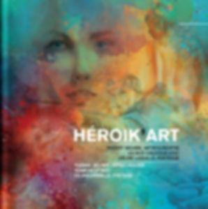 Héroik'Art, Brochure, Thierry Seurre, Artiste peintre