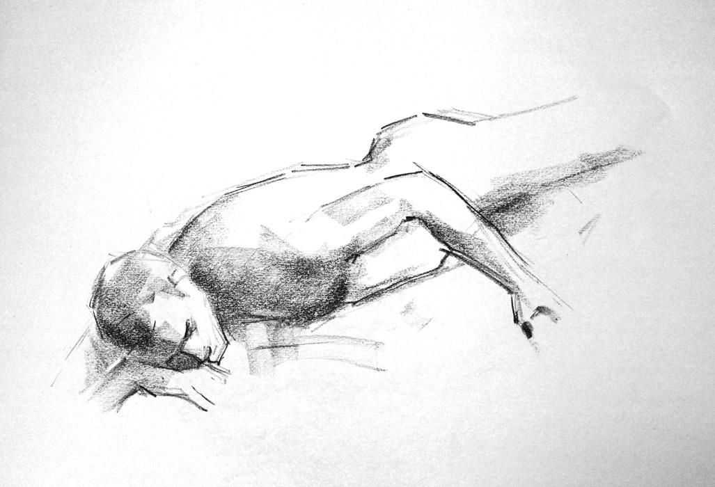 Croquis- Achilles Kwagn