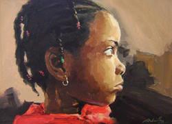 Portrait kwagn -1 / Huile