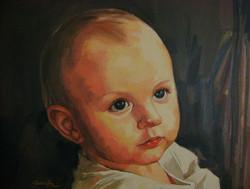 Portrait / 76x61cm / Huile