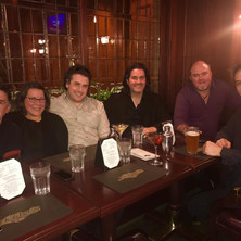 MHT after-concert hang with Zuill Bailey and SItka Summer Music