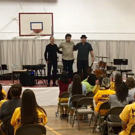 MHT concert at women's prison in Anchora