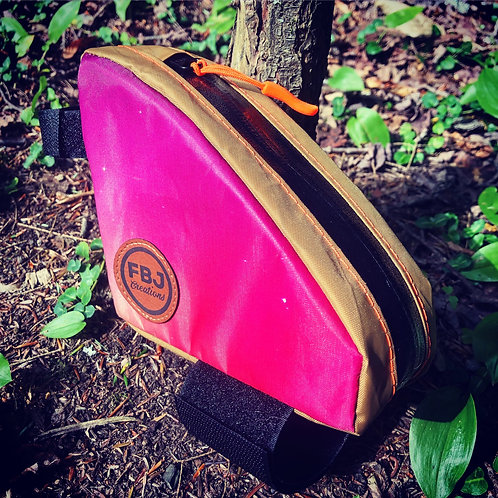 Pink and Khaki Post Pocket