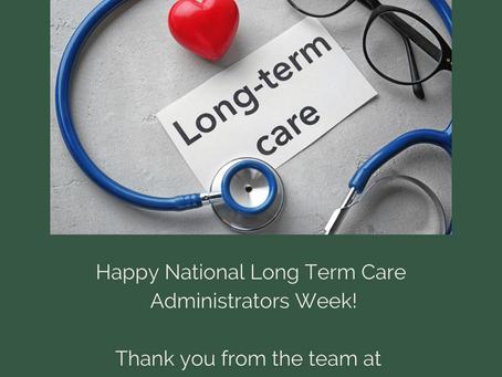 National Long Term Care Administrators Week