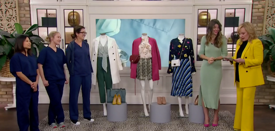 Style Updates for 3 Deserving Nurses.