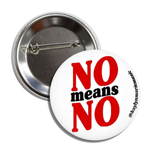 """Wildlings """"No Means No"""" Pin"""